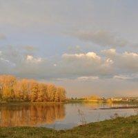 осень в николаевке на Ое :: Владимир Коваленко