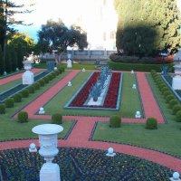Хайфа. Бахайские сады :: Герович Лилия