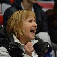 Хоккей. Болельщица. :: Руслан Сасонов