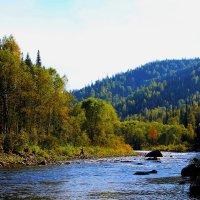 Осенью на Тумуясе :: Сергей Чиняев