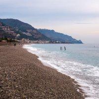 Берег Ионического моря, Сицилия :: Witalij Loewin