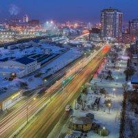 улица моего города (Улан-Удэ) :: Борис Коктышев