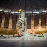 почетный караул на мамаевом курганеу увечного  огня :: Иван Синицарь