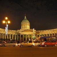 Огни ночного Петербурга :: Николай