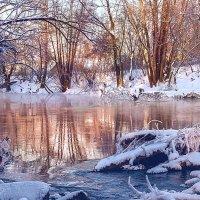 Закат на реке Иж :: Валерий Бочкарев