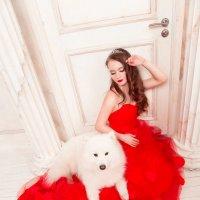 Девушка в красном :: Анита Гавриш