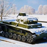 Немецкий танк начало Великой Отечественной войны :: Paparazzi