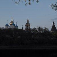 вид на монастырь со стороны пруда :: Галина R...