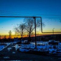 Закат над Черепетью :: Артём