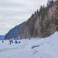 Рыбалка в феврале :: val-isaew2010 Валерий Исаев
