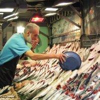Продавец рыбы :: Мария Кондрашова