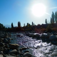Река и солнце :: Александра Полякова-Костова
