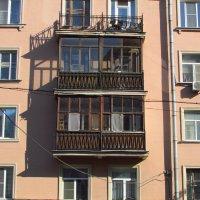 Балконы большого города 2... :: Дмитрий