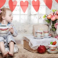кукольное чайпитие :: L. Anna