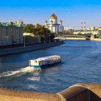 Москва-река. :: Валерий Гудков
