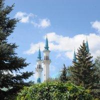 Минареты Мечети Кул-Шариф в Казани :: Сергей Тагиров