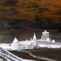 Вид на Кремль и реку Великую. :: Fededuard Винтанюк