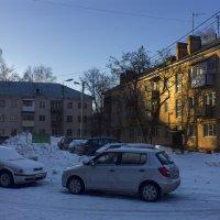 Привет от солнца в морозный день. :: Владимир Мальцев