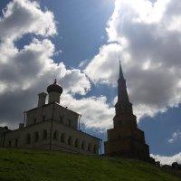 Соборы на горе. Город Казань. :: Сергей Тагиров
