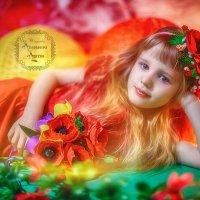 Цветы, как люди, на добро щедры и, людям нежность отдавая, они цветут, сердца обогревая, как маленьк :: Anastasiya Ageeva