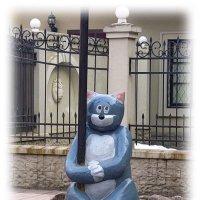 И кот ученый на распутье:мне песни петь иль сказки вспоминать? :: Tatiana Markova