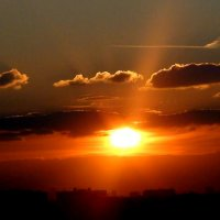 закат солнца :: elena manas