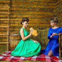 Горожанки в деревне :: Роман Калугин