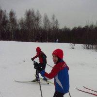 Зимние радости детей :: Андрей Лукьянов