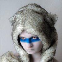 маленькая девочка с глазами волчицы :: Вячеслав Владимирович