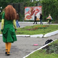 В  парке... :: Валерия  Полещикова