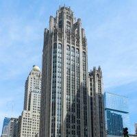 Башня Чикаго Трибюн / Tribune Tower (1925) :: Юрий Поляков