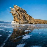 Знаменитая скала Огой на Байкале на закате :: Андрей Лукашенко