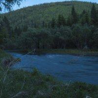 Вечер у реки :: sayany0567@bk.ru