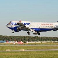 Боинг-747 (посадка) :: Олег Савин