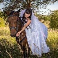 Невеста на лошади :: Александра Андрющенко