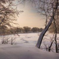Зимний пейзаж. :: Александр Селезнев