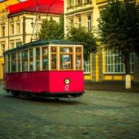 Одинокий трамвай Тильзита :: Игорь Вишняков