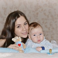 Малыш с мамой :: Юлия Шишаева