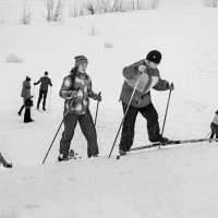 Лыжники :: Владимир Голиков