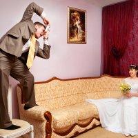 Когда жених тоже фотограф:) :: Дарья Казбанова