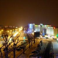 Огни ночного Бреста :: Алексей Афанасьев