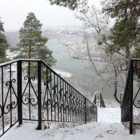 Первый снег на Чусовой :: Мария Кухта