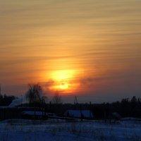 Зимний закат. :: Валентина Удачина