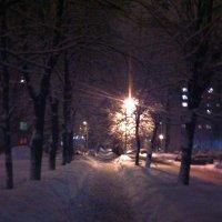По снежной улице пройду... :: Милагрос Экспосито