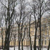 В Михайловский саду. Март :: Маера Урусова