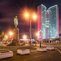 Памятник Столыпину на Новом Арбате :: Юлия Батурина