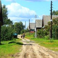 Деревня :: Владимир Андреевич Ульянов