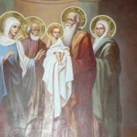 икона в одном из храмов Николо-Пешношского монастыря :: Виктор