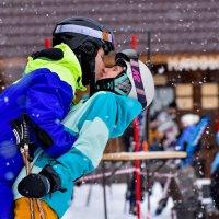 Горные лыжи любви не помеха! :: Михаил Петрик