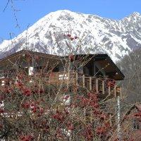 Калина, дом, горы. :: Олег Романенко